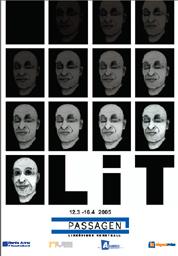 Affisch till utställningen LIT